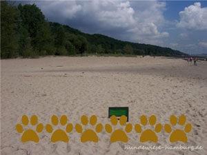 Hundestrand Falkensteiner Ufer