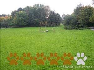 Hundewiese Grünes Zentrum Lohbrügge
